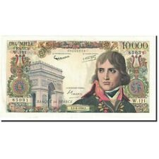 Billets, France, 10,000 Francs, 10 000 F 1955-1958 ''Bonaparte'', 1958 #600523