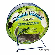 NEW Ware Manufacturing Metal Small Pet Tread Exercise Wheel Large FREE SHIPPING