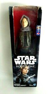 Figurine Star Wars Hasbro 30 CM Sergeant Jyn Erso ( Jedha ) Disney New