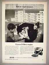 Cryovac D Film for toy packaging PRINT AD - 1967 ~ W.R. Grace
