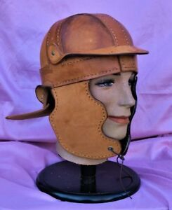 One only Roman Legionary helmet 100% made in America leather cat gut hand sewn