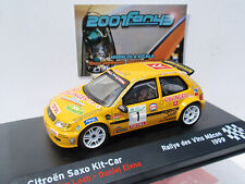 CITROEN SAXO KIT CAR #1 LOEB RALLYE MACON 1999 1/43 ALTAYA