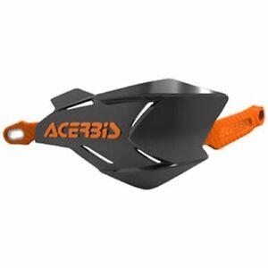 Acerbis X-Factory Handguards Black/Orange Honda Kawasaki KTM Yamaha Suzuki