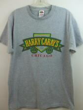 Chicago Cubs Harry Caray's Steakhouse Gray T-Shirt Vacation Souvenir New Size M