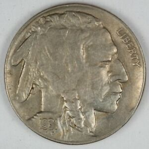 1931-S United States Buffalo Nickel - AU About Uncirculated Condition
