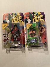 Austin Powers 1999 Mcfarlane Toys Fat Bastard & Austin Powers Action Figures