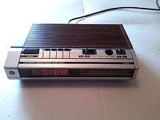 Vintage Ge General Electric Digital Alarm Clock Radio 7-4634B