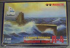 Maquette 1/400 L-4 Russian Soviet Navy Submarine # 4005