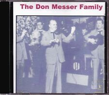 The Don Messer Family - 1st HTF Original Canadian Banff Records Fiddle CD (New!)
