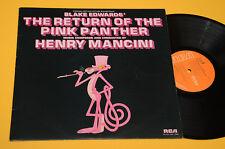 LP SUR RITORNO DELLA PANTERA ROSE 1°ST ORIG UK 1975 EX ! AUDIOPHILES