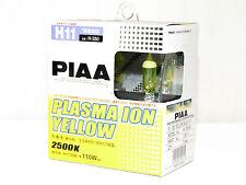 Piaa 2500K 55w=110w Plasma Ion Yellow H11 Halogen Fog Light Bulbs B