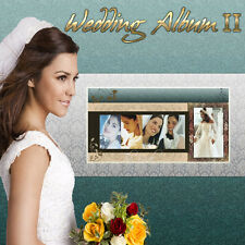 Digital Photography Backdrops Backgrounds Photoshop Wedding Album Templates Vol2