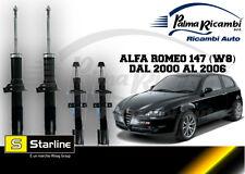 Set 4 Amortisseurs Alfa Romeo 147 1.9 JTD 8/16V