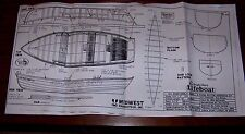 FULL SIZE PLANS OF THE SEA BRIGHT DORY, LIFE BOAT