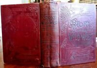 Wild West story & Campfire Chats by Buffalo Bill 1888 illustrated West U.S. book