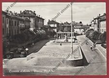 MILANO CASSANO D'ADDA 20 Cartolina viaggiata 1952 REAL PHOTO