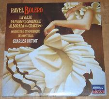 SEALED Ravel Bolero LP Charles Dutoit Montreal LONDON FFRR digital NEW symphony