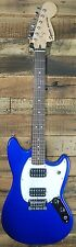 Squier by Fender Bullet Mustang Electric Guitar - Imperial Blue - New!