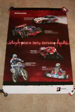 2008 Lewis Hamilton/Casey Stoner/Chad Reed Bridgstone Formula 1 Moto GP poster