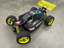 Used Nitro RC 1/8 Scale Off Road Buggy no trans reciver, gs power bo3 Engine