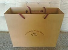 The Cambridge Satchel Company Medium Sized Brown Paper Carrier/Gift Bag.