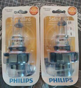 2x Philips H13 9008 Standard OEM 60/55 Watts  Headlight Bulbs FREE SHIP B3