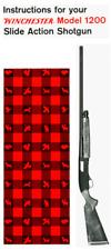 Winchester Model 1200 Slide Action Shotgun Owners Manual