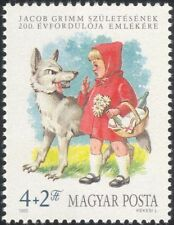 Hungary 1985 Grimm/Wolf/Red Riding Hood/Books/Stories/Tales/Animation 1v n45464