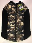 NWT! Top Dog Apparel For Dogs - Camouflage Pet Sweater & Coat/Camo Vest -SZ XL