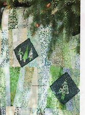 Tipsy Trees Quilt Pattern Free Form Pieced/Applique TD
