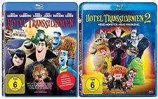 2 Blu-rays * HOTEL TRANSSILVANIEN 1 + 2 IM SET  # NEU OVP - Transilvanien <
