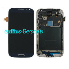 Blue LCD Display Touch Screen Digitizer + Frame For Samsung Galaxy S4 i9505