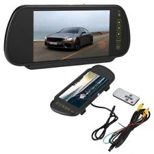 """7"""" Car Rearview Mirror LCD Display Dimming Monitor Rear View Camera With Bracket"""