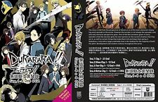 Anime DVD Durarara Season 1-4 + 4 OVA Complete English Audio Box Set ef Action