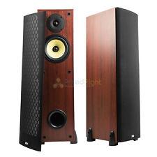 "6.5"" 2-Way Tower Speaker Floor Standing Home Theater Audio DCM TP160-CH 2 Pack"
