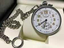 Glycine 3828.146AT F 104 Pocket Watch White Dial