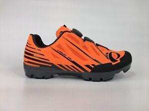Pearl Izumi Womens X-Project Pro Sz 8.5 Orange BOA Quicklace Mountain Bike Shoes