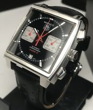 TAG Heuer Monaco Chronograph CAW2114 Swiss Automatic Steve McQueen 39mm Cal 12