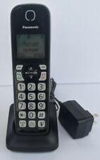 Panasonic KX-TGDA51M Dect 6.0 Digital Cordless Black Handset w/ PNLC1007 Charger