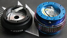 NRG STEERING WHEEL QUICK RELEASE HUB 2.1 BLUE-NEO TOYOTA CAMRY CELICA SUPRA MR-2