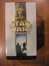 STAR WARS la trilogia VHS cofanetto nuova speranza l'impero colpisce ancora Jedi