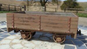 Wooden kit/scratch built 16mm SM32 open wagon