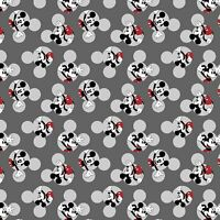 Disney Mickey Traditional 66421 Head Toss 100% Cotton fabric by the yard