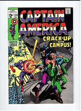 Marvel CAPTAIN AMERICA #120 - Nick Fury Appearance - VF/NM 1969 Vintage Comic