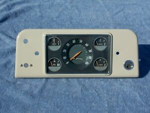 1955 Studebaker truck speedometer gauges ignition instrument cluster