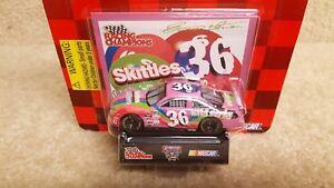 New 1998 Racing Champions 1:64 NASCAR Ernie Irvan Wildberry Skittles Pontiac #36
