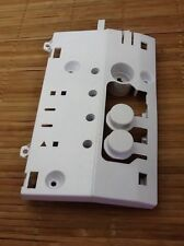 Hoover HNV380 Button Assembly Mount White Plastic 40003570 Tumble Dryer Parts