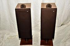 Bowers and Wilkins B&W DM7 MK2 Speakers Vintage Wood Floor-standing Towers Rare