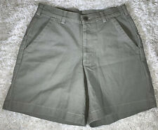 Men's Patagonia Lightweight Stand Up Shorts Size 28 Green #57226 Organic Cotton