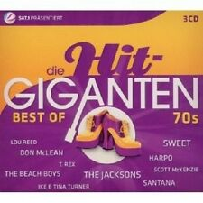 DIE HIT GIGANTEN-BEST OF 70'S 3 CD SMOKIE UVM NEU